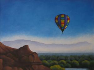 West Bluff Painting Series By Gayle Faucette Wisbon